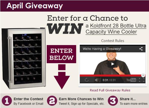 winecoolerdirect giveaway