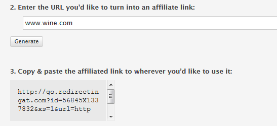 skimlinks link feature