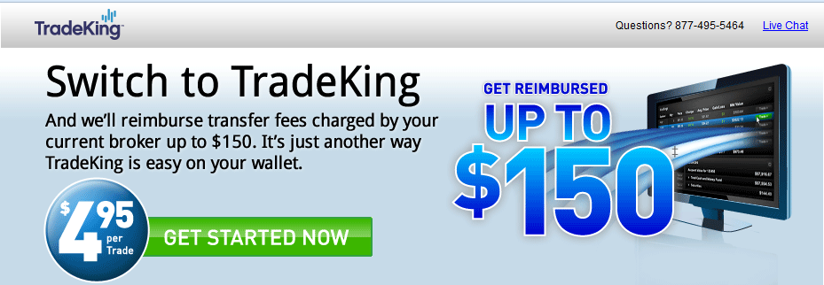 tradeking offer