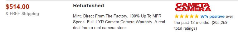 cameta camera amazon