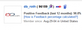 db_roght rating ebay